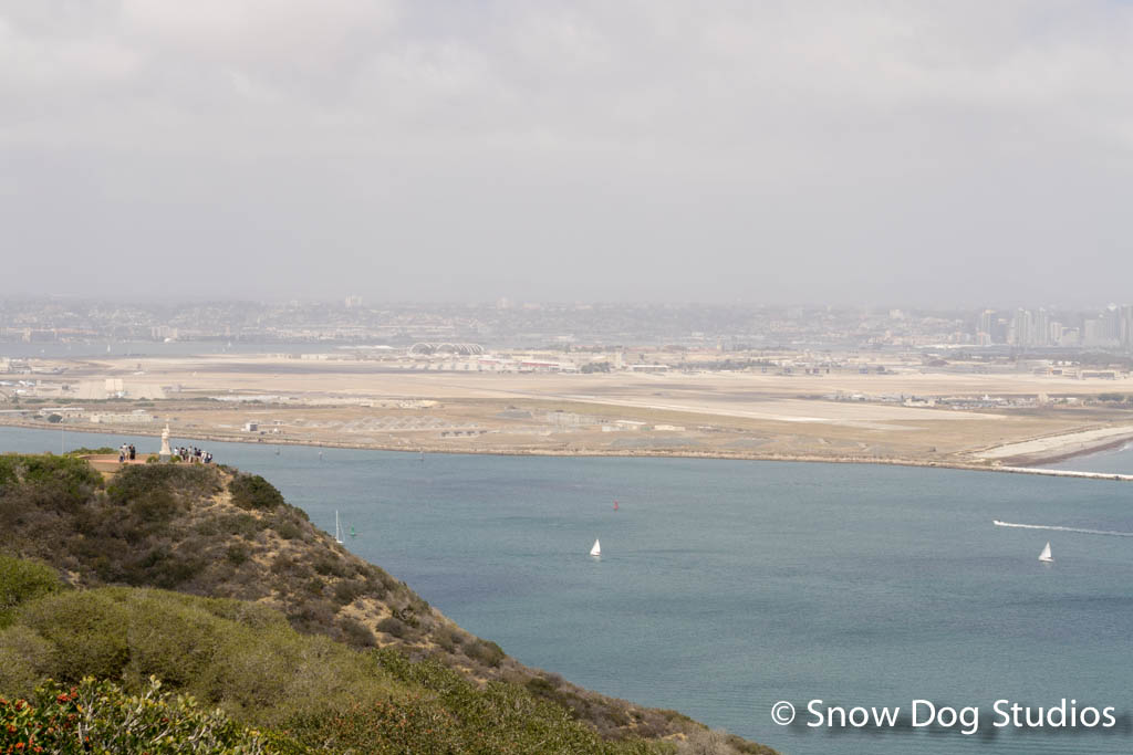 Coronado and San Diego from Point Loma