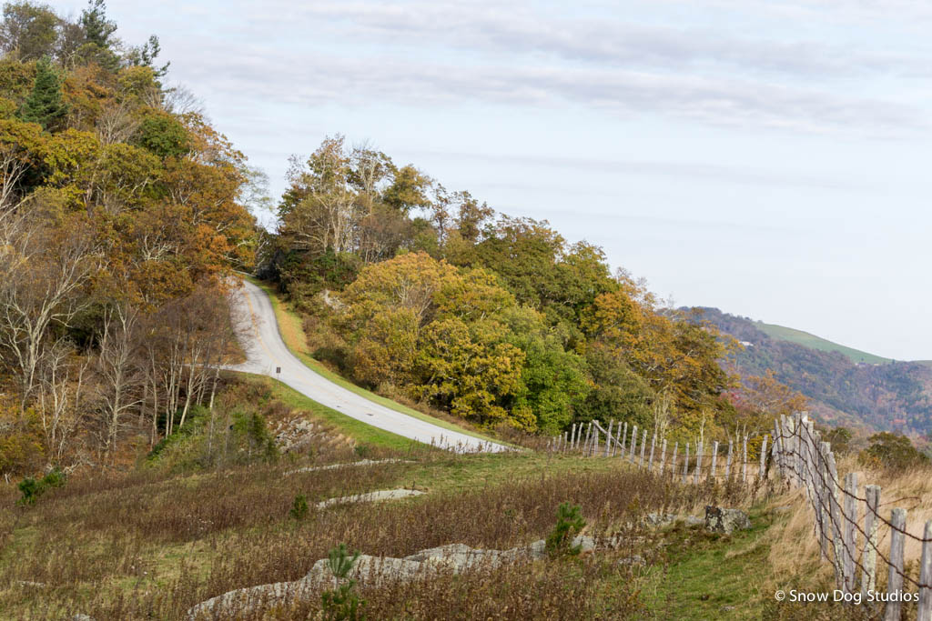Changing Seasons - Autumn on the Blue Ridge Parkway