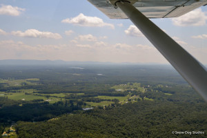 Cross-Country in a Two-Seat Light Aircraft
