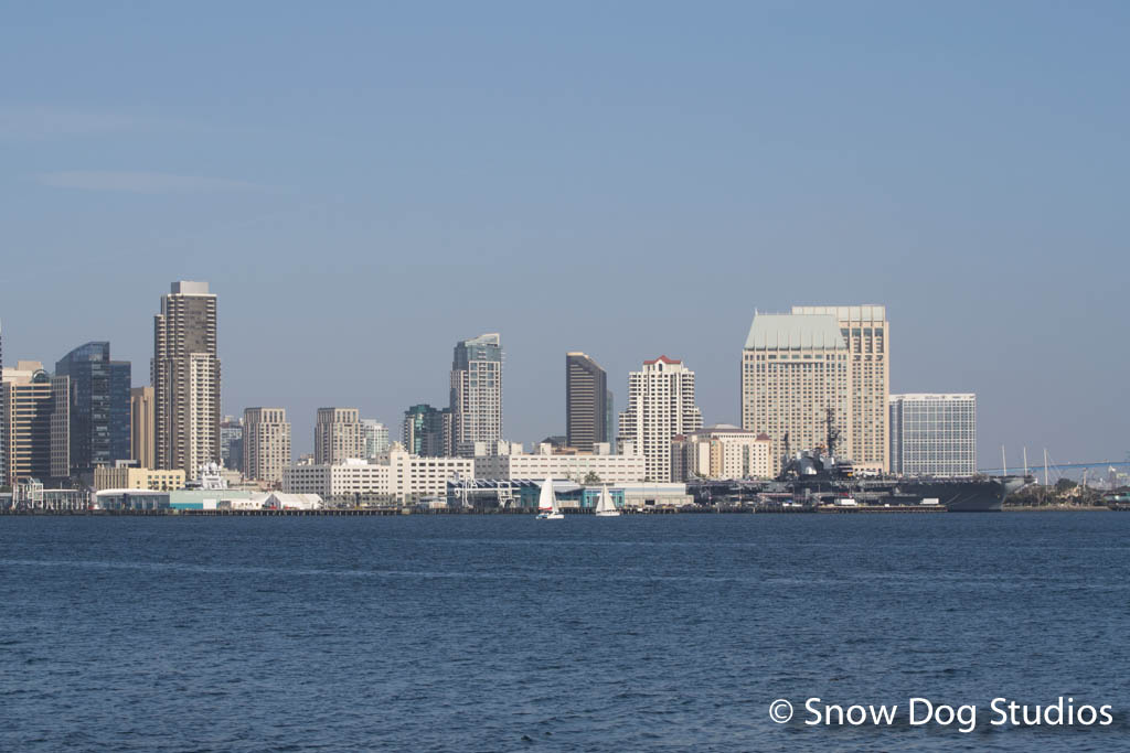 Downtown San Diego from across the bay