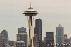 "Seattle Space Needle:  Lunch With A View and ""…I think I need another Nalgene…"""
