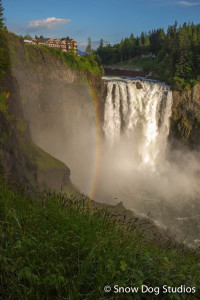 Snoqualmie Falls and Salish Lodge – Dinner With A View