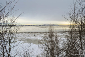 A view across the Knik Arm of the Cook Inlet
