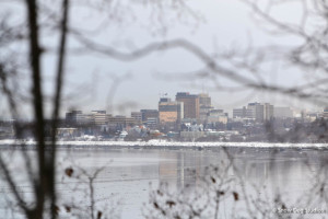 Downtown Anchorage from Earthquake Park