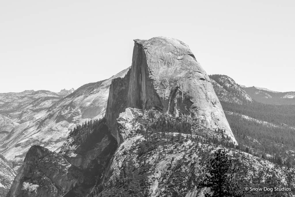Half Dome, Yosemite National Park, California - Landscape Photograph