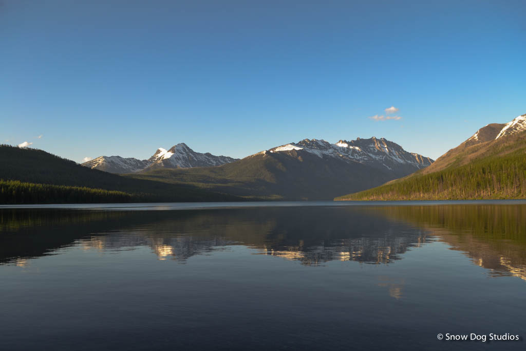 Sunset at Kintla Lake, Glacier National Park, Montana - Landscape Photography