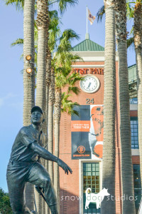 AT&T Park - Willie Mays Statue